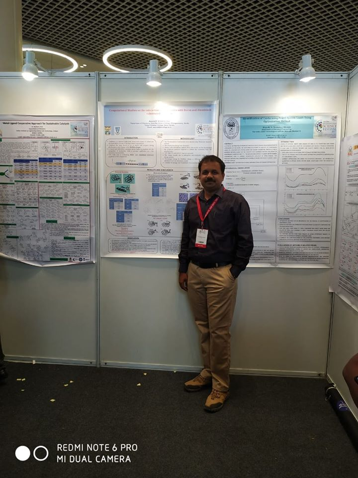 Delegate at India International Science Festival-Kolkata 2019