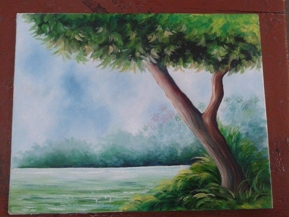 Calm tree